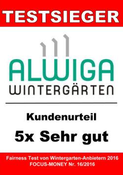 Alwiga Wintergärten 2016 getestet - Kundenurteil